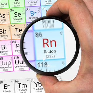 radon inspection periodic table residential